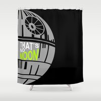 That's No Moon Shower Curtain
