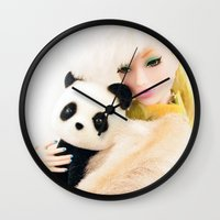 WILD FOR LOVE  Wall Clock