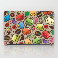 Apple Pattern iPad Case