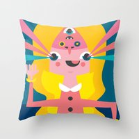 Greetings, Earthling! Throw Pillow