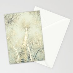 birch trees 1 Stationery Cards