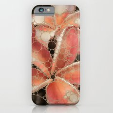 Percolated Tropical Flowers iPhone 6 Slim Case