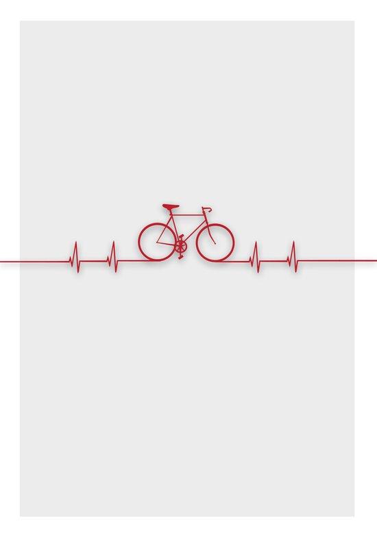 Bike Beat Art Print