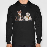 The Owl And The Weasel Hoody