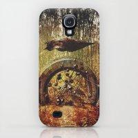 Galaxy S4 Cases featuring Intervention 32 by Viviana Gonzalez