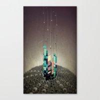 Antennas Canvas Print