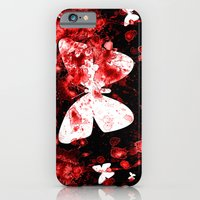 iPhone & iPod Case featuring Butterfly Splatter by CosmosDesignz