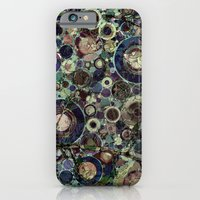 iPhone Cases featuring Stone Pattern Fantasy by Klara Acel