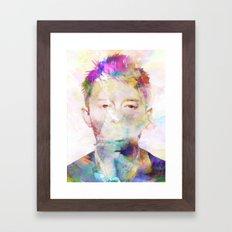 Thom Yorke Framed Art Print
