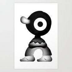 Big nose Art Print
