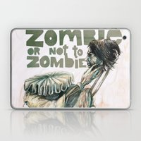 Zombie + Shakespeare Laptop & iPad Skin