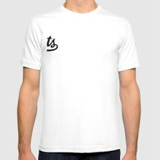 Squatriots Mens Fitted Tee SMALL White