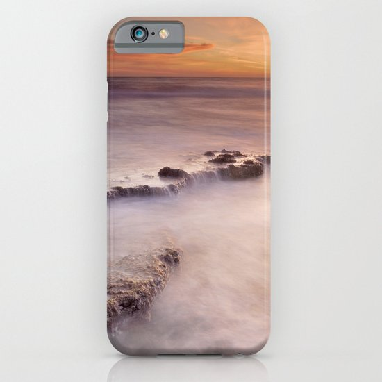 waterfalls on the rocks iPhone & iPod Case