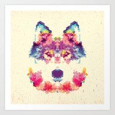 Wolfie Art Print