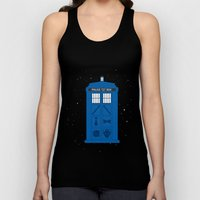 The Tardis Got Some Ink Unisex Tank Top