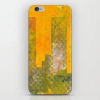 Yellow City iPhone & iPod Skin