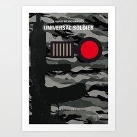 No523 My Universal Soldi… Art Print