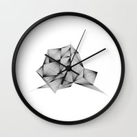 Structure (XYZ) Wall Clock