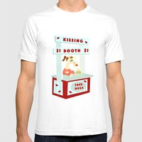 Kissing Booth Unicorn Mens Fitted Tee White SMALL