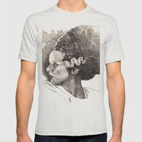 The Bride Of Frankenstei… Mens Fitted Tee Silver SMALL
