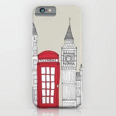 London Red Telephone Box iPhone 6 Slim Case