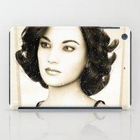 Vintage Woman iPad Case