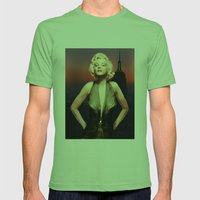 Marilyn Forever Mens Fitted Tee Grass SMALL