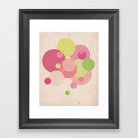 Balloons//Five Framed Art Print
