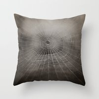 Oh What A Tangled Web We… Throw Pillow
