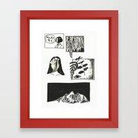 Comic Strip Framed Art Print