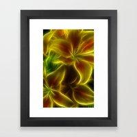Orange Lily Framed Art Print