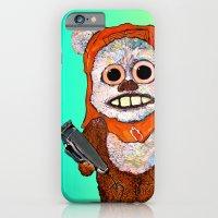 iPhone Cases featuring Eccentric Ewok by Jordan Soliz