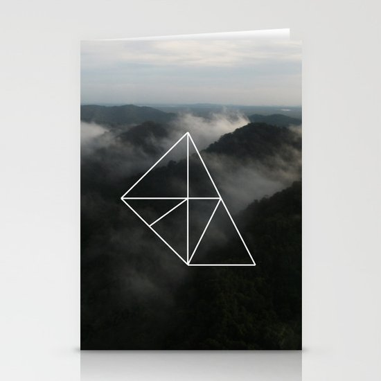 Geometry Stationery Card