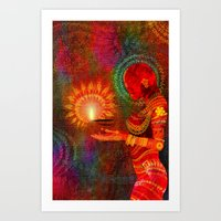 Festival Of Lights Art Print
