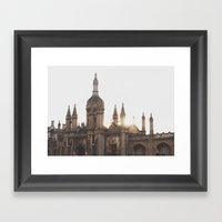 King's College, Cambridg… Framed Art Print