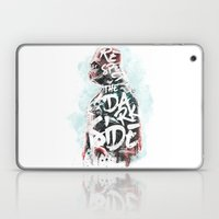 Respect the Dark Side Vader Laptop & iPad Skin