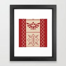 Nerdy Christmas Sweater:… Framed Art Print