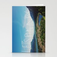 Let's Run Away: Columbia… Stationery Cards