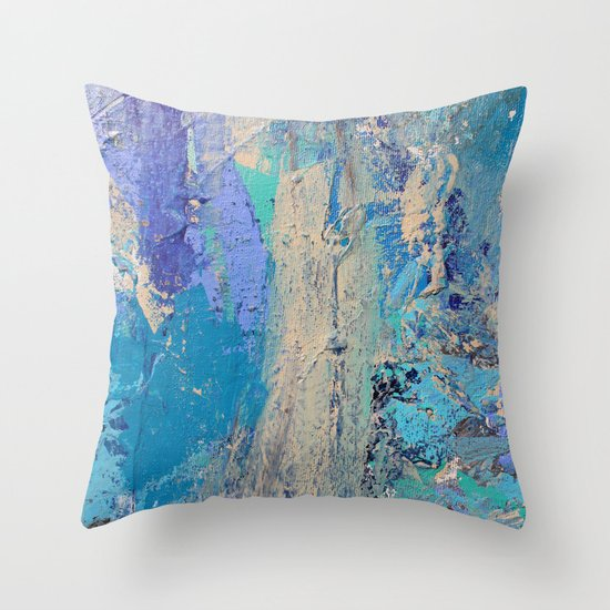 Tides Change Throw Pillow