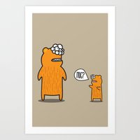 Hug? Art Print
