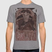 Riddick Mens Fitted Tee Athletic Grey SMALL