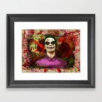 Fassbender As...The Joke… Framed Art Print