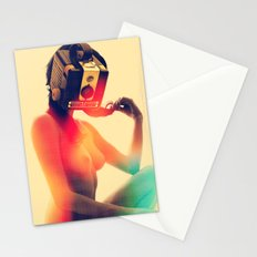 SEX ON TV - LUNAR by ZZGLAM Stationery Cards