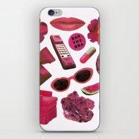 MAGENTA iPhone & iPod Skin