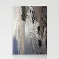 Seascape with stones Stationery Cards