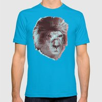 Lion Mens Fitted Tee Teal SMALL
