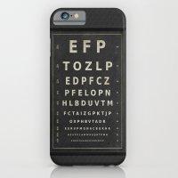 Eye Chart iPhone 6 Slim Case