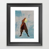 Aang Framed Art Print
