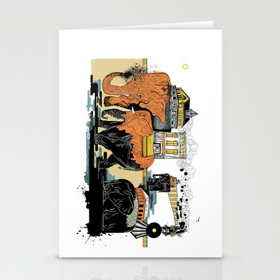 Oiliphants Stationery Card