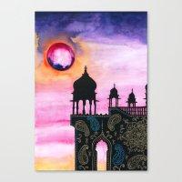 Rajasthan Sunset Canvas Print